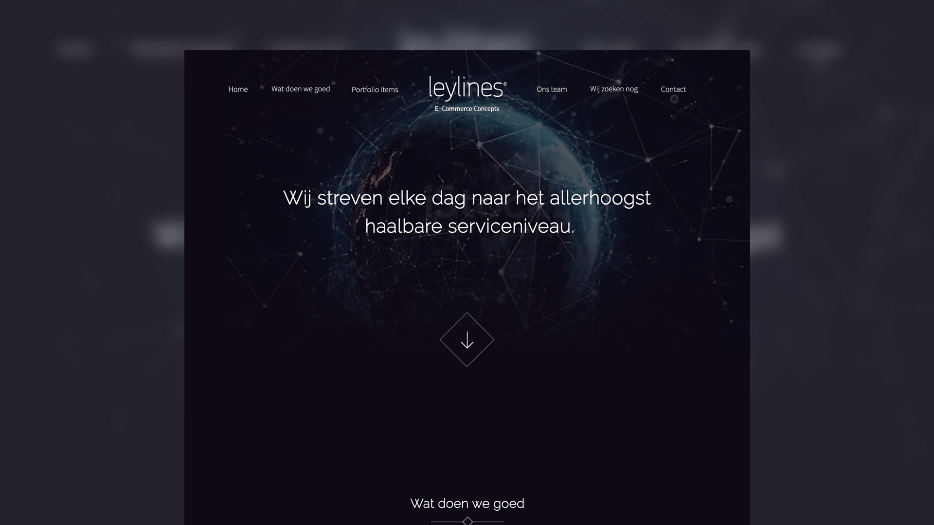 Leylines.nl website