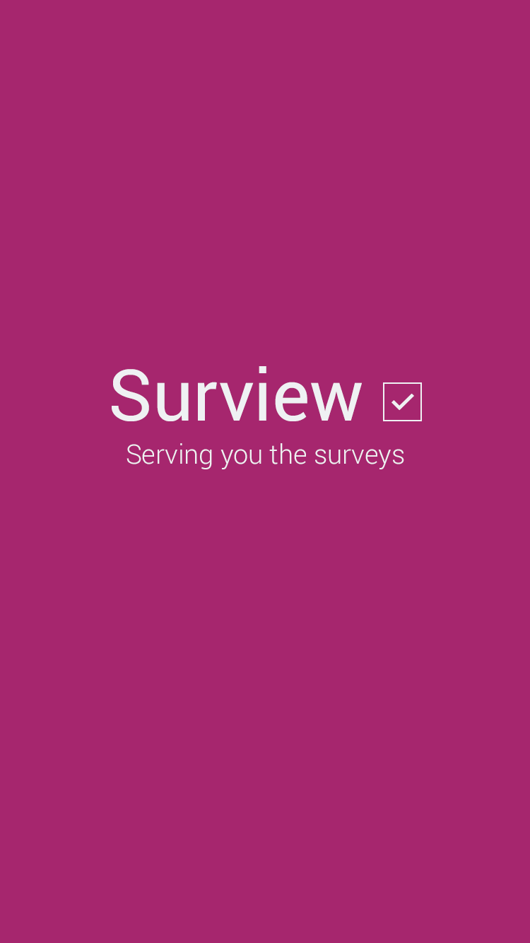 IBM survey app loading screen